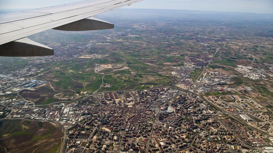 Madrid, vista aérea