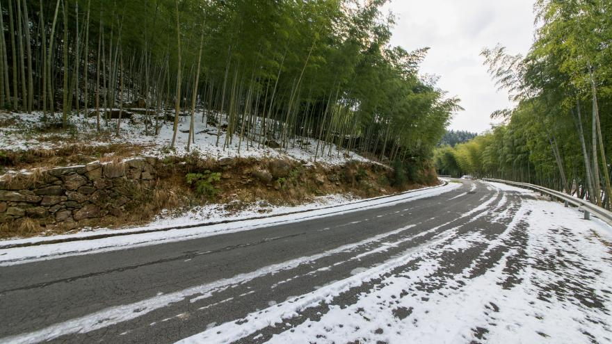 Carretera de la sierra nevada