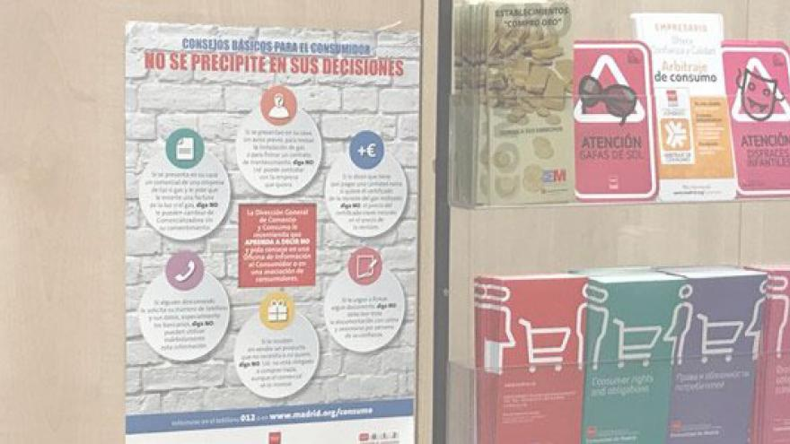 Oficina de Atención al Consumidor de la Comunidad de Madrid