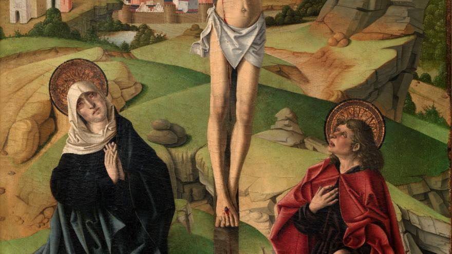 Crucifixión de Fernando Gallego