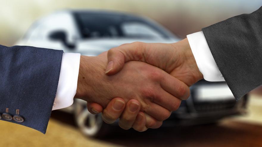Acuerdo en la venta de un vehículo
