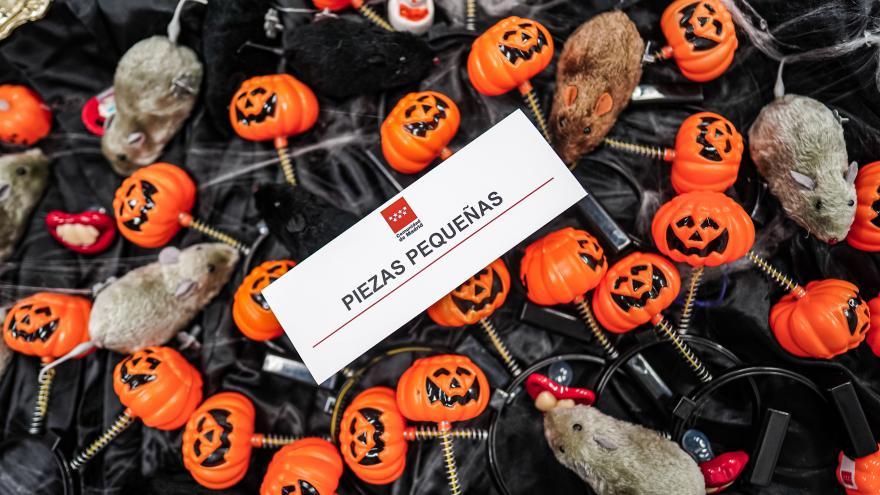 Objetos Halloween intervenidos