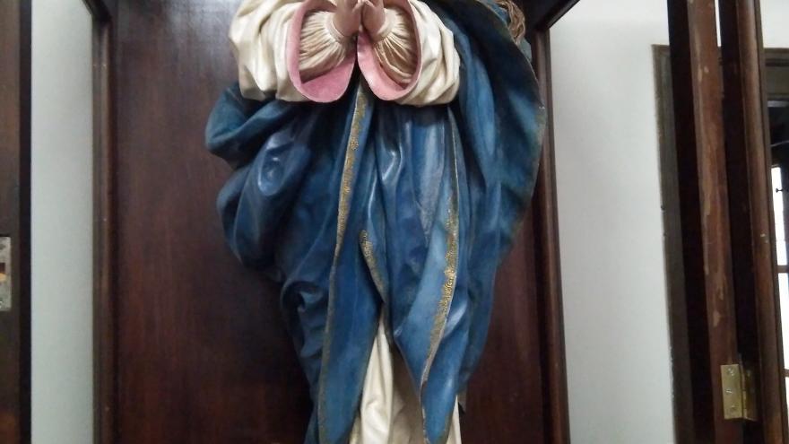 Escultura Inmaculada atribuida a Pedro de Mena