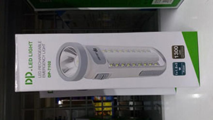 Lámpara recargable