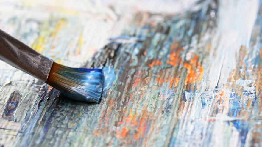 Lienzo pincel pintura
