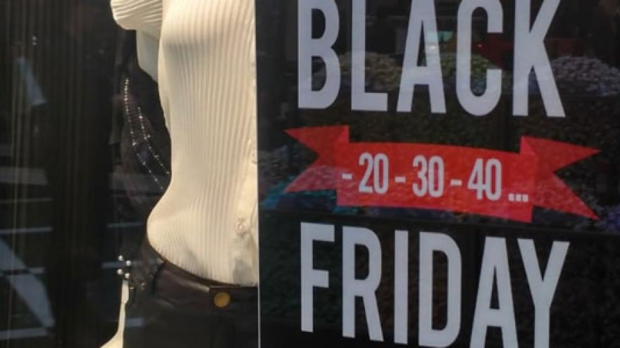 Escaparate Black Friday