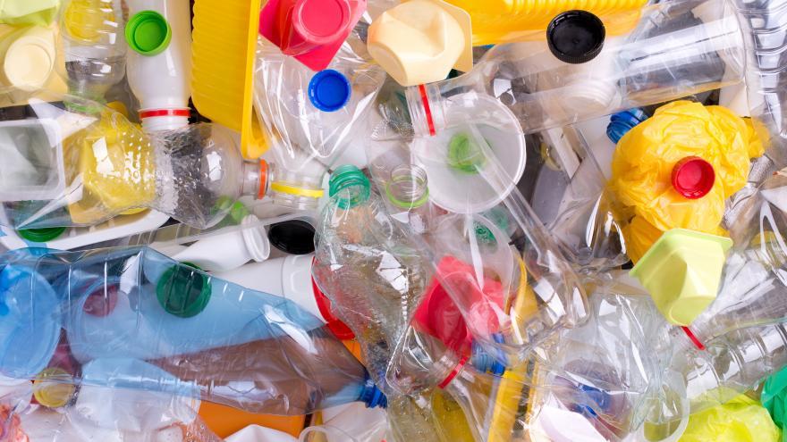 Botellas de plástico para reciclaje