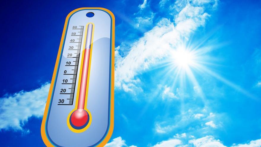 termómetro indicando altas temperaturas