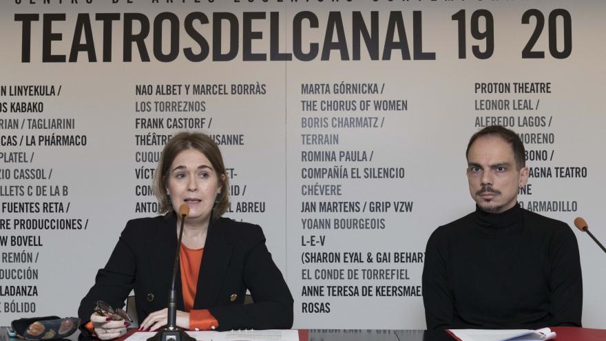 Alberto Conejero y Marta Rivera
