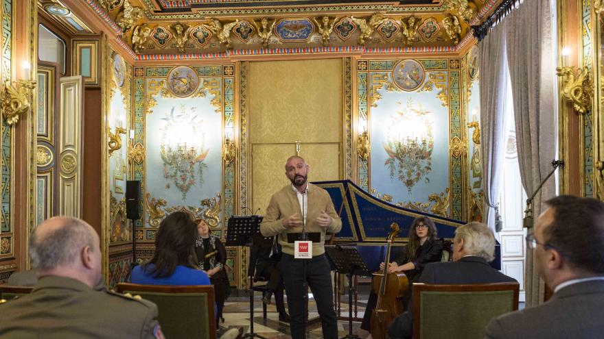 Jaime de los Santos en la presentación de la nueva edición de '¡Bienvenidos a palacio!'