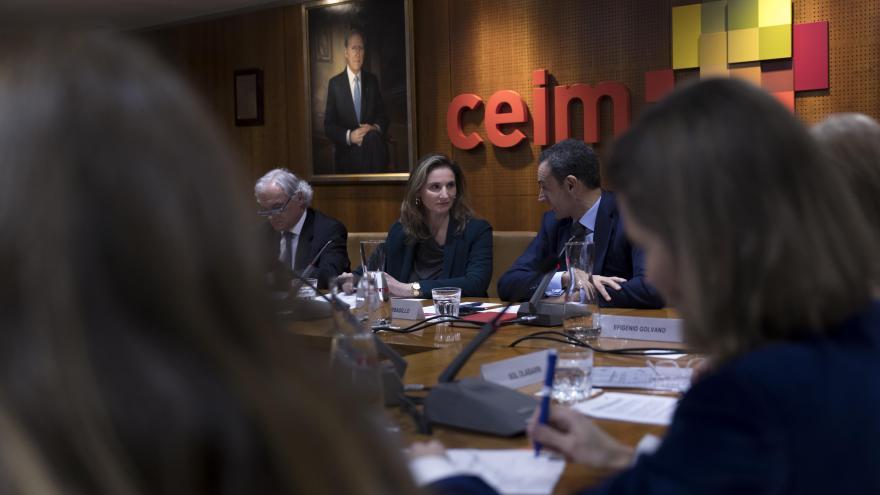 Paloma Martín ha participado en la nueva Comisión de Sostenibilidad y Movilidad de CEIM