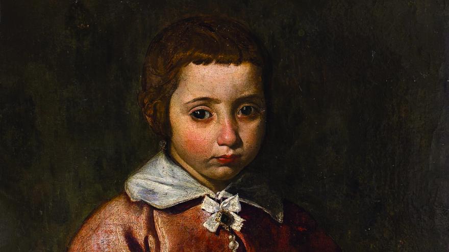 'Retrato de niña o joven Inmaculada' de Velázquez
