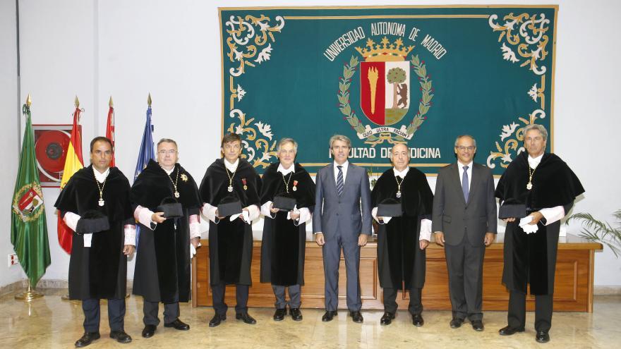 Ángel Garrido ha participado en el acto académico de apertura del curso universitario en la Universidad Autónoma de Madrid