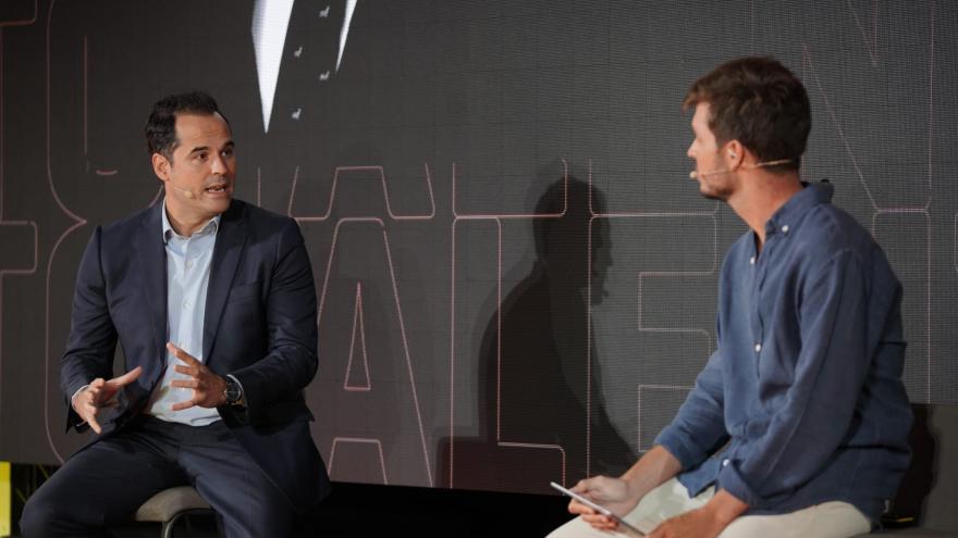 Ignacio Aguado durante la apertura del encuentro virtual FORUM