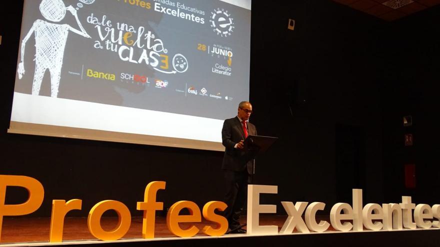 Van Grieken ha inaugurado hoy las I Jornadas Educativas 'Profes Excelentes' sobre la metodología flipped classroom