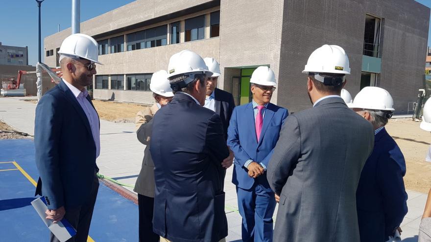 Rafael van Grieken ha visitado hoy estas infraestructuras que entrarán en funcionamiento el próximo curso 2018/19