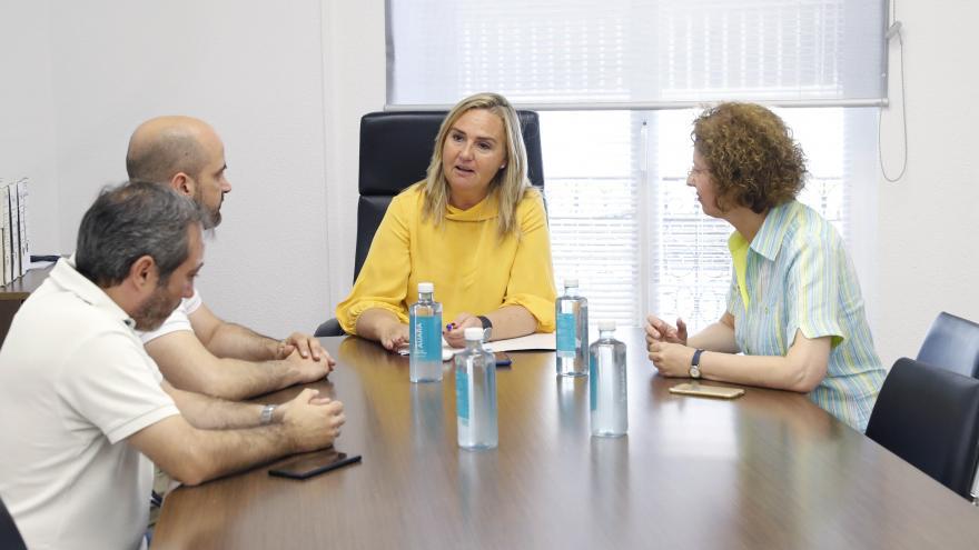 Rosalía Gonzalo Consejera de Transportes