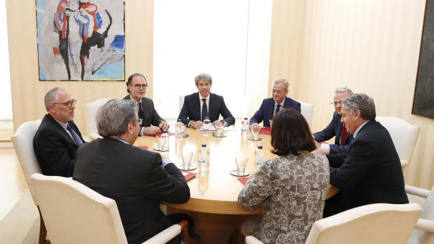 Garrido se reúne con las autoridades judiciales y fiscales de la región