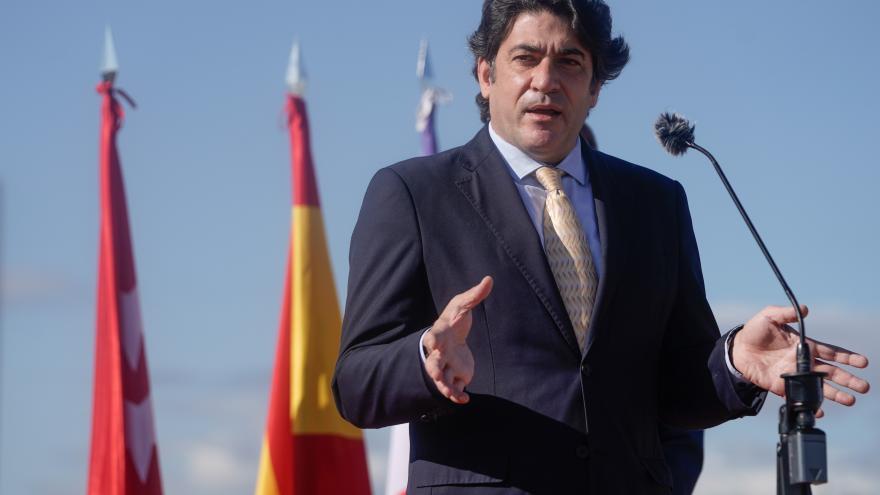 El consejero de Vivienda y Administración Local, David Pérez