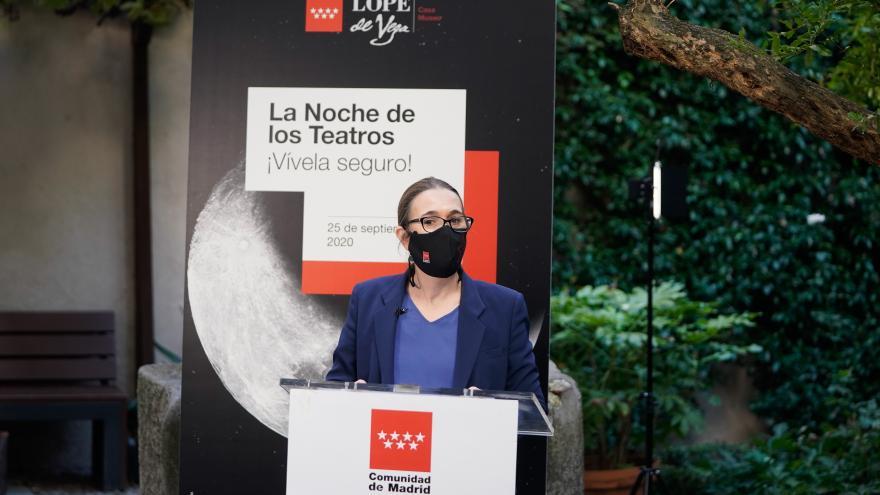 Marta Rivera de la Cruz presenta Noche de los Teatros