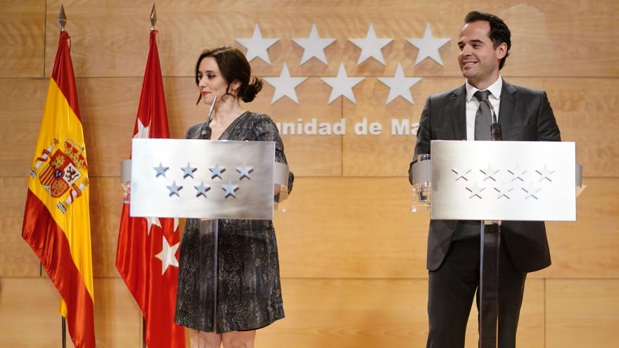 Diaz Ayuso e Ignacio Aguado