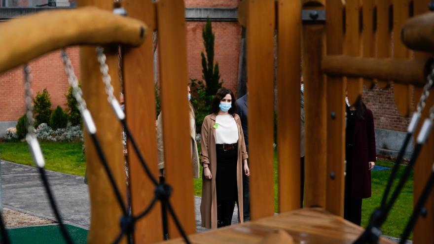 Isabel Díaz Ayuso en la inauguración