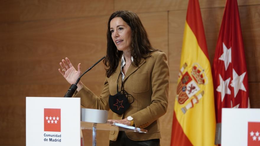 La consejera de Presidencia, Eugenia Carballedo