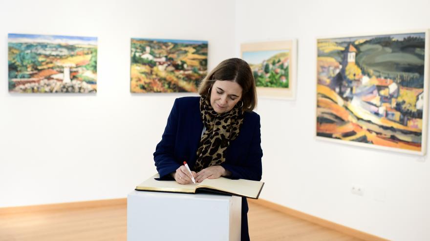 Marta Rivera visita Olmedo de las Fuentes