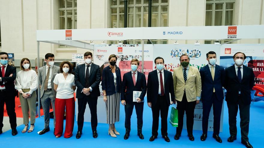 Javier Fernández-Lasquetty ha participado en la inauguración de IMEX-Madrid 2021