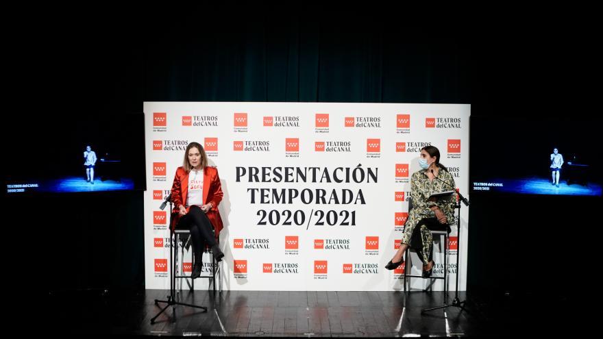 Presentación de la temporada 2020/2021 de los Teatros del Canal