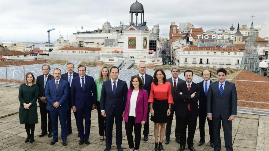 El gobierno de la Comunidad de Madrid