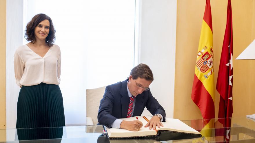 Imagen Isabel Díaz Ayuso se reúne con el alcalde de Madrid, José Luis Martínez-Almeida