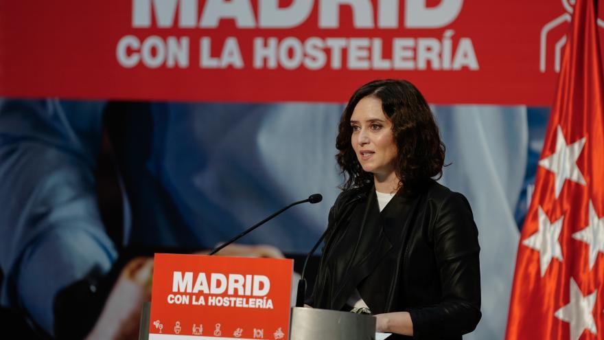 Díaz Ayuso reconoce el papel de la hostelería de Madrid