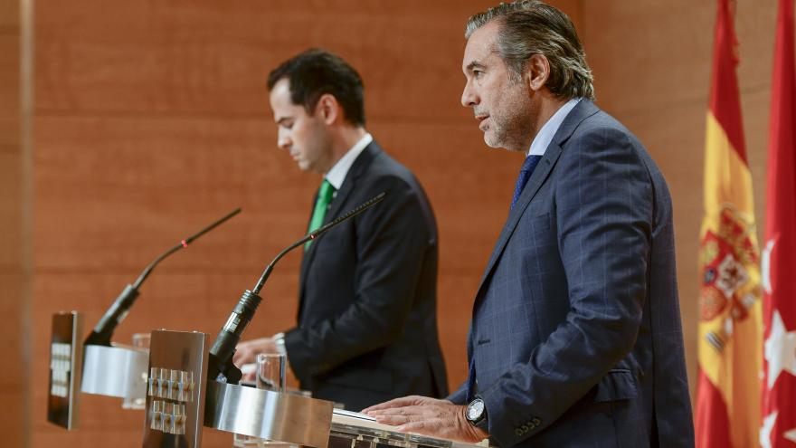 Enrique López e Ignacio Aguado