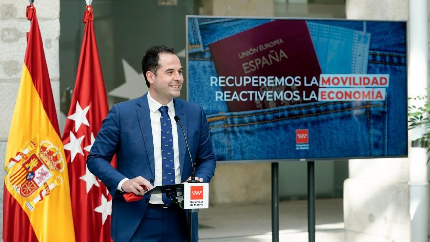 Aguado: Una movilidad segura nos ayudará a acelerar la recuperación económica y turística de la Comunidad
