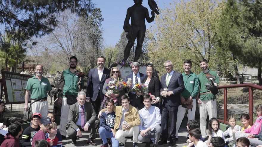 Ángel Garrido en el homenaje a Félix Rodríguez de la Fuente