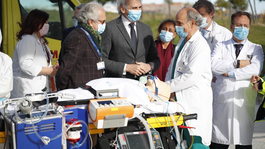 Enrique Suiz Escudero ha presentado el protocolo que permite mejorar la supervivencia en complicaciones respiratorias