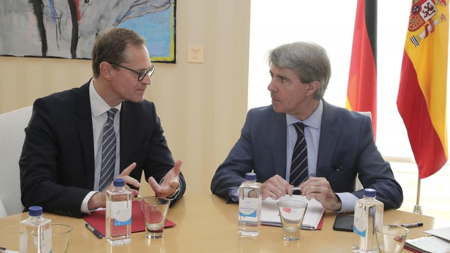 El presidente regional se ha reunido con el alcalde gobernador de Berlín y presidente del Senado alemán, Michael Müller