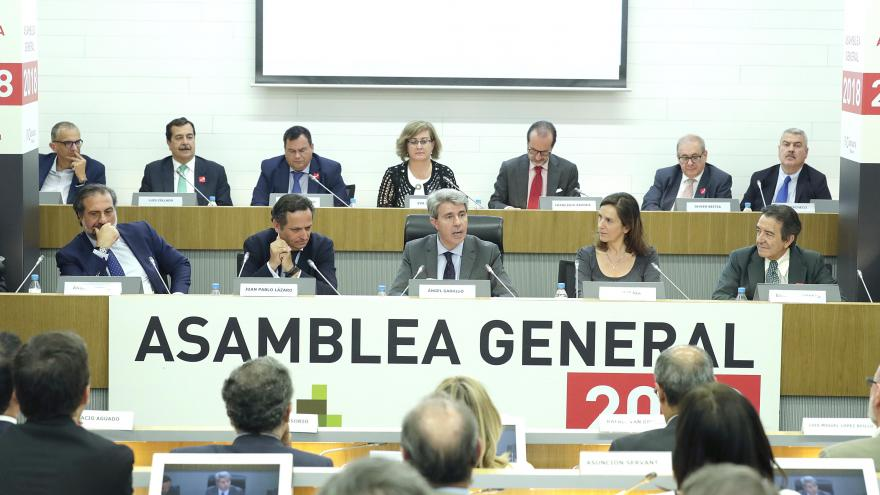 El presidente regional ha participado en el acto de clausura de la Asamblea General de CEIM