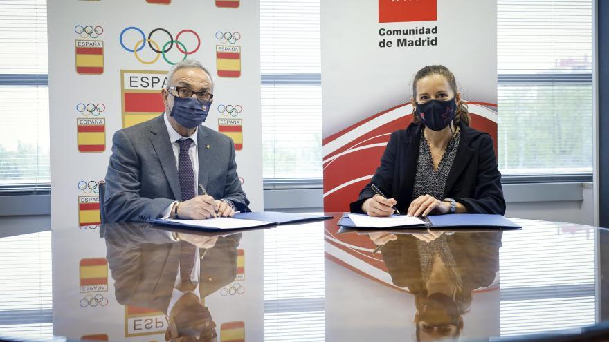La Comunidad de Madrid y el Comité Olímpico Español renuevan su acuerdo para desarrollar el programa Todos Olímpicos