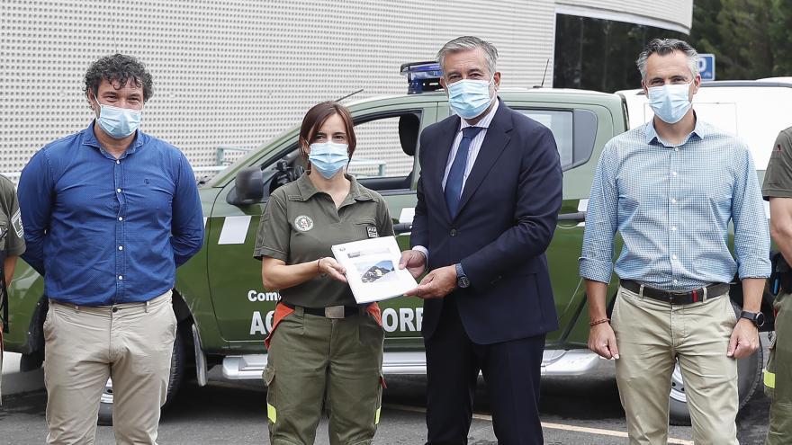 Presentación de la Memoria de investigación de incendios forestales del año 2019