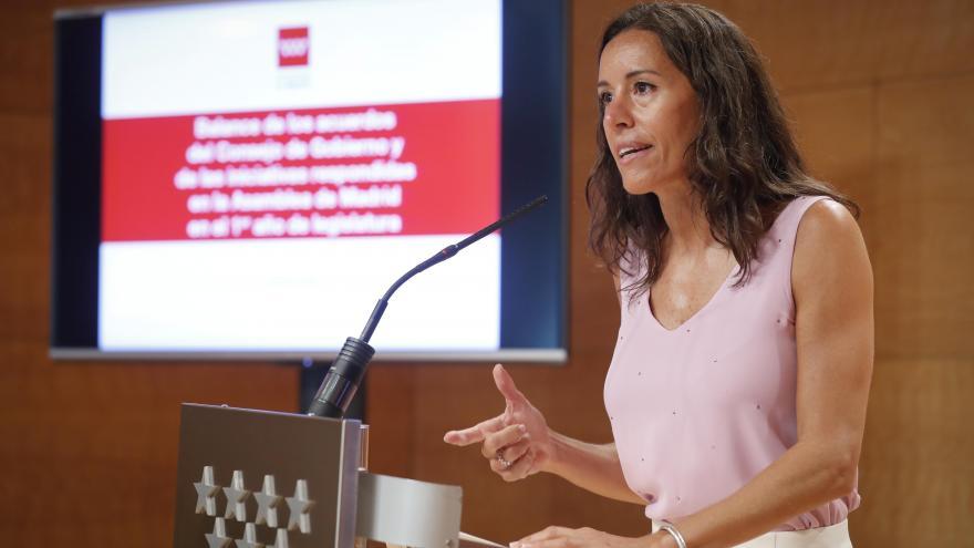 María Eugenia Carballedo, consejera de Presidencia