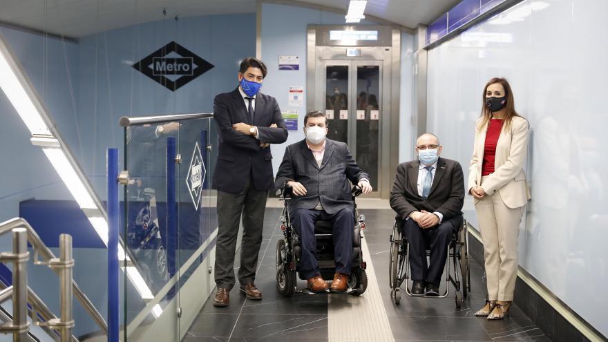 Convertimos en plenamente accesible la estación de Metro de Tribunal