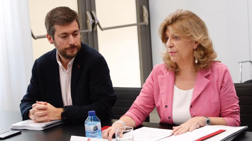 Engracia Hidalgo en la sexta reunión de la Mesa del Autónomo y la Economía Social