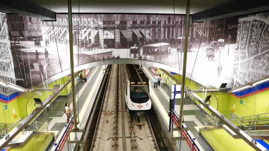 Reapertura del tramo Retiro-Sol de la línea 2 de Metro de Madrid