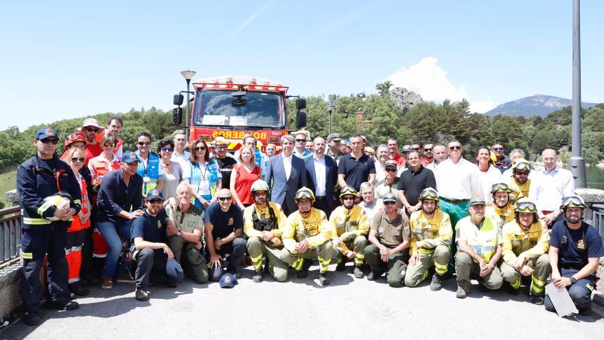 Garrido presenta el Plan INFOMA, integrado por casi 4.800 efectivos destinados a la prevención y extinción de incendios forestales