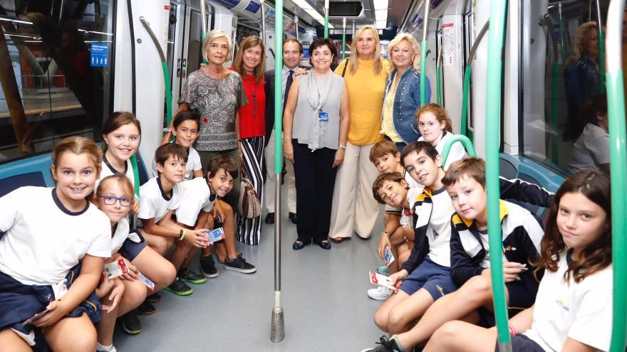 Gonzalo ha acompañado a los alumnos en su recorrido, dentro de estas visitas educativas que comenzaron en 1982