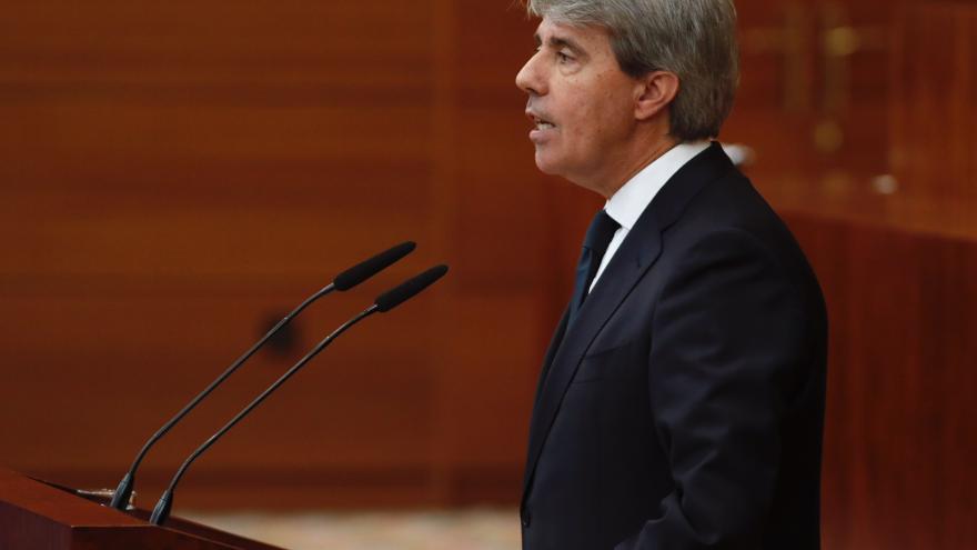 Intervención de Ángel Garrido en el último Pleno de la X Legislatura de la Asamblea