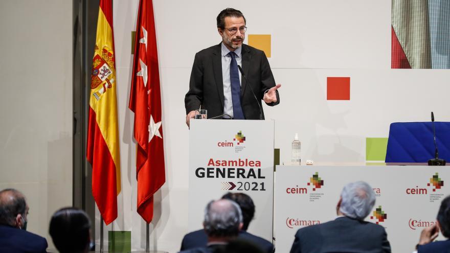 Javier Fernández-Lasquetty ha participado en la clausura de la Asamblea General de CEIM