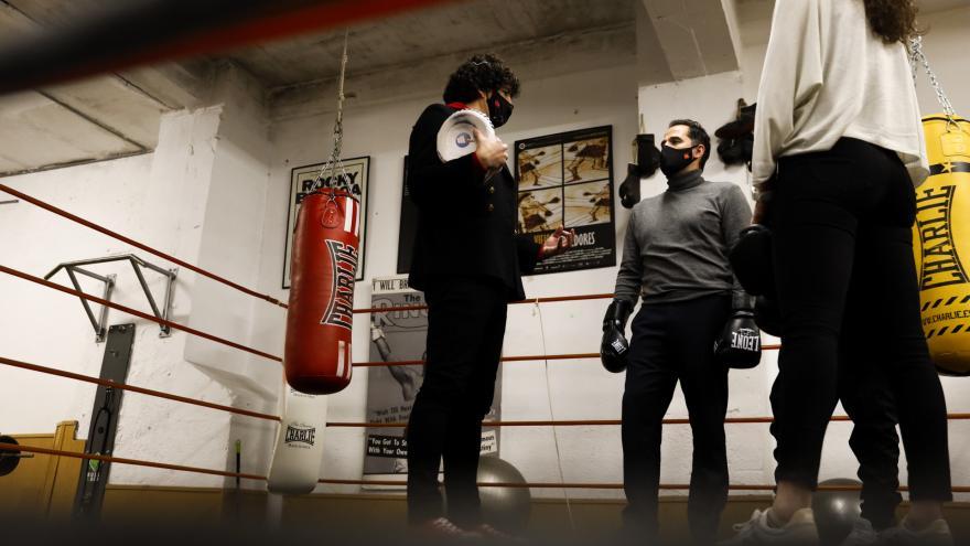 Ignacio Aguado boxeo